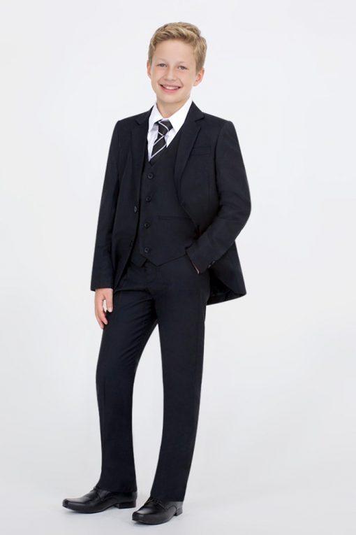 kids black suit