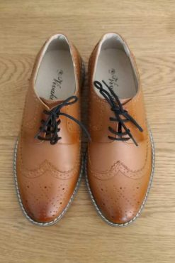 brown shoe
