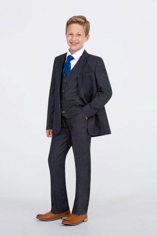 boy brown suits
