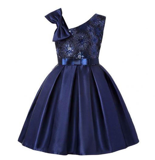 Blue dress girls