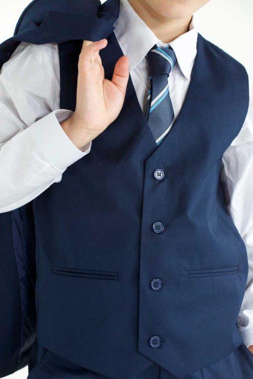 Kids navy suit