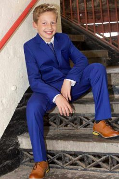 boys suit blue Yoyokiddies