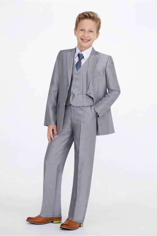 boys bright grey suit