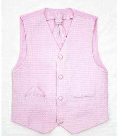 boys pink waistcoat