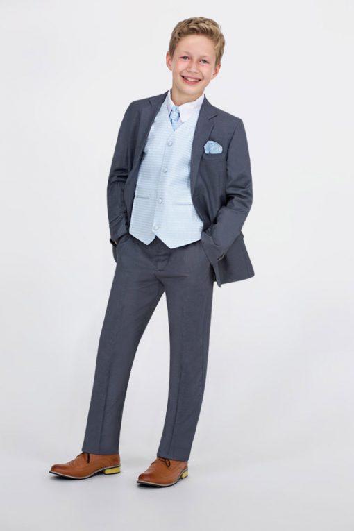 boy blue waistcoat set