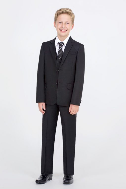 new black suit for boys