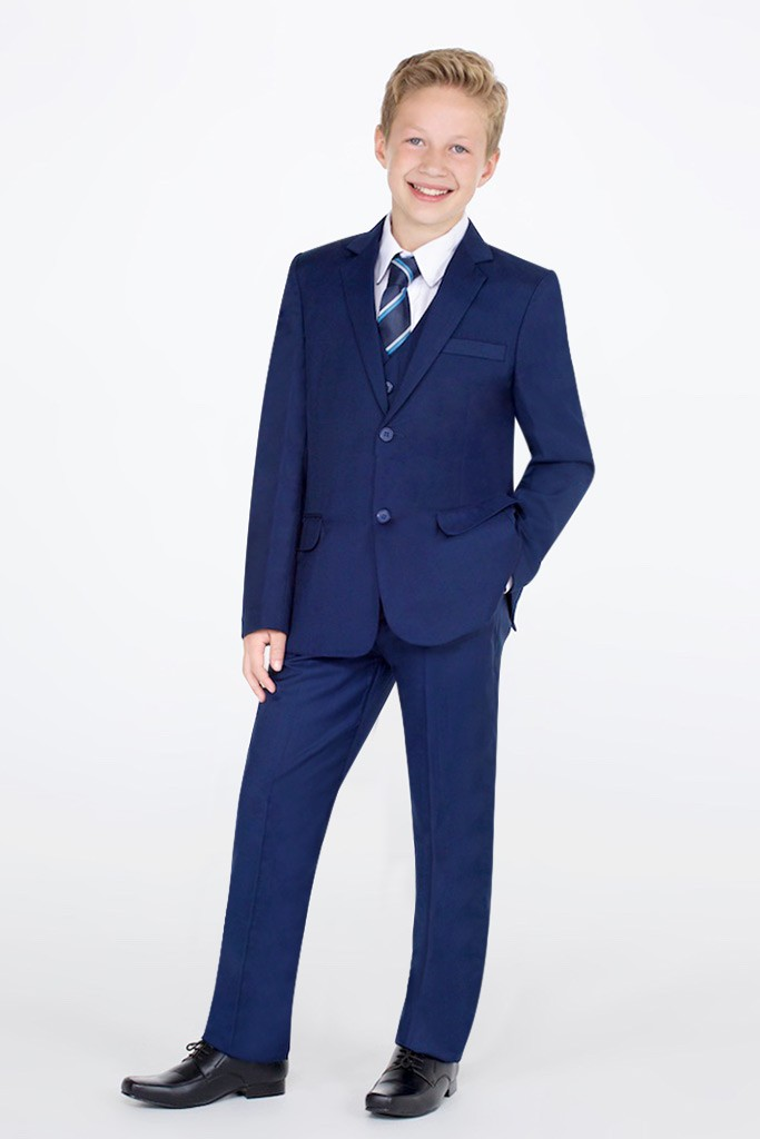 Boys Navy Suits