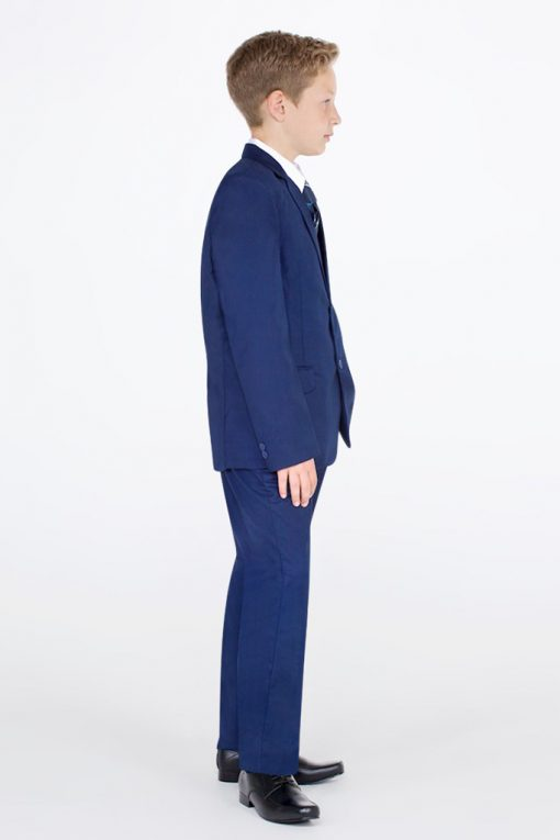 children navy suit