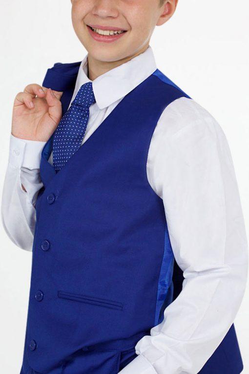 boys bright blue suits
