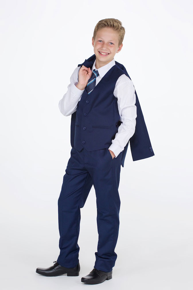 cf918abe41 Buy Boy's Navy Suit From Range Of Dark Blue Boys Suits | Free Delivery