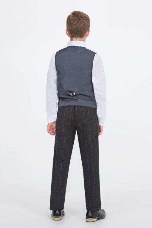 boys waistcoat tweed