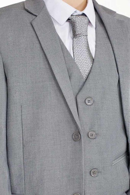 boys light grey suit
