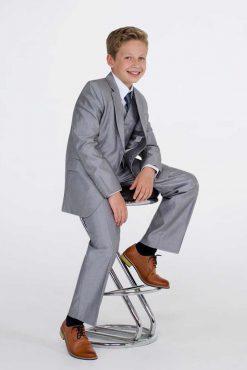 boys shiny suit